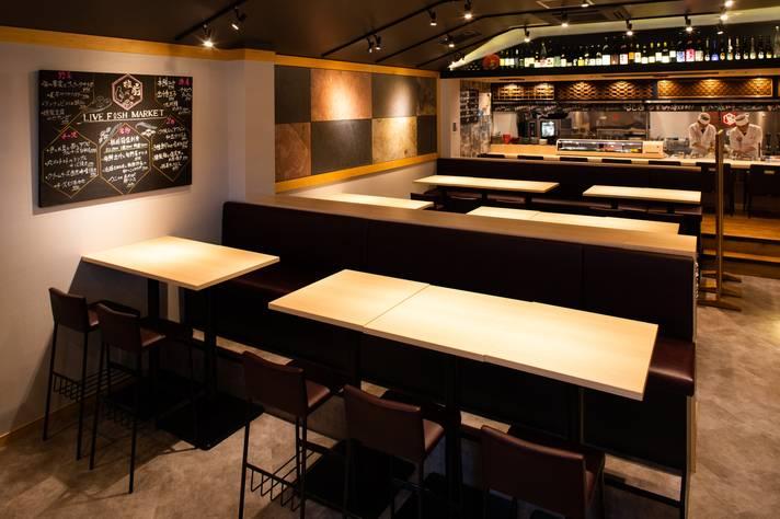 板前バル LIVE FISH MARKET 日比谷グルメゾン店 【☆ケータリング実施店舗☆】+宴会パーティ